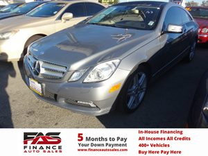 2010 MERCEDES E350 Coupe Carfax Report - No Accidents  Damage Reported to CARFAX  Iridium Silv