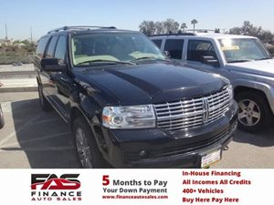 2008 Lincoln Navigator L  Carfax Report  Black  NOTICE All advertised prices are discounte