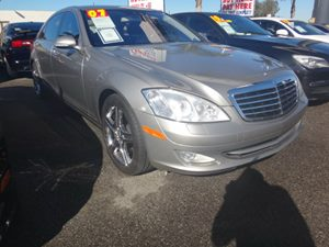 2007 MERCEDES S550 Sedan Carfax Report - No Accidents  Damage Reported to CARFAX  Iridium Silv