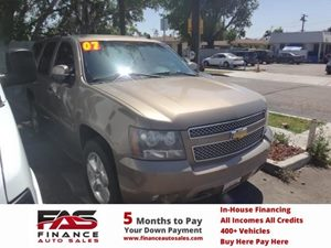 2007 Chevrolet Tahoe LT Carfax Report - No Accidents  Damage Reported to CARFAX  Tan  NOTICE