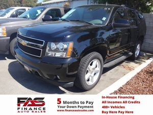 2007 Chevrolet Tahoe LT Carfax Report - No Accidents  Damage Reported to CARFAX  Black  NOTIC
