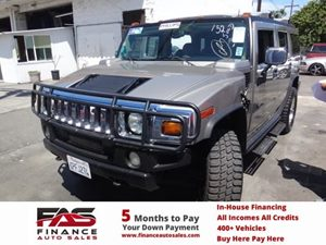 2003 HUMMER H2  Carfax Report - No Accidents  Damage Reported to CARFAX  Black  NOTICE Al