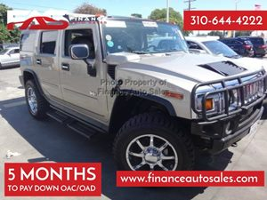 2003 HUMMER H2  Carfax Report - No Accidents  Damage Reported to CARFAX 8 Cylinders Air Conditi