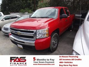 2009 Chevrolet Silverado 1500 LS Carfax 1-Owner  Victory Red  NOTICE All advertised prices