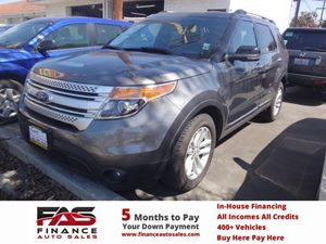 2012 Ford Explorer XLT Carfax 1-Owner - No Accidents  Damage Reported to CARFAX  Black  NOTIC