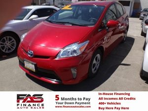 2013 Toyota Prius One Carfax 1-Owner - No Accidents  Damage Reported to CARFAX  Barcelona Red