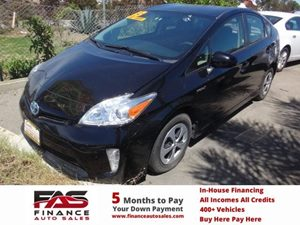 2013 Toyota Prius One Carfax 1-Owner - No Accidents  Damage Reported to CARFAX  Black  Rates