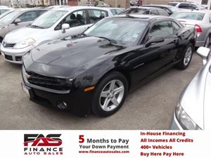 2010 Chevrolet Camaro 1LT Carfax Report - No Accidents  Damage Reported to CARFAX  Black  NOT