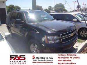2007 Chevrolet Tahoe LT Carfax 1-Owner - No Accidents  Damage Reported to CARFAX  Black  NOTI