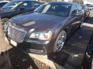 2013 Chrysler 300  Carfax 1-Owner - No Accidents  Damage Reported to CARFAX  Gray  NOTICE