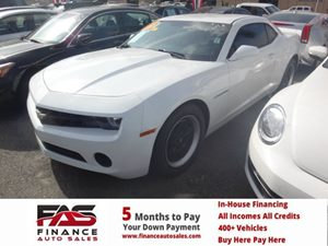2013 Chevrolet Camaro LS Carfax 1-Owner - No Accidents  Damage Reported to CARFAX  Summit Whit