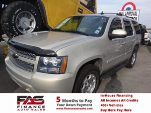 2007 Chevrolet Tahoe LT Carfax Report - No Accidents  Damage Reported to CARFAX  Gold Mist Met
