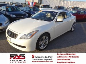 2009 Infiniti G37 Coupe Journey Carfax Report - No Accidents  Damage Reported to CARFAX  Moonl