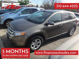 2012 Ford Edge SEL Carfax 1-Owner - No Accidents  Damage Reported to CARFAX 4 Cylinders Adjusta