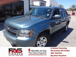 2008 Chevrolet Avalanche LT w1LT Carfax 1-Owner - No Accidents  Damage Reported to CARFAX  Bl