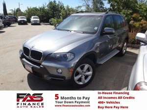 2008 BMW X5 30si Carfax Report - No Accidents  Damage Reported to CARFAX  Alpine White  NOTI