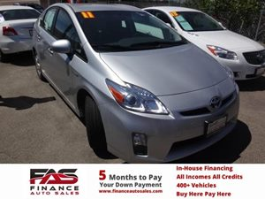 2011 Toyota Prius I Carfax 1-Owner - No Accidents  Damage Reported to CARFAX  Classic Silver M