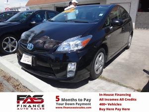 2011 Toyota Prius I Carfax 1-Owner - No Accidents  Damage Reported to CARFAX  Black  Rates as
