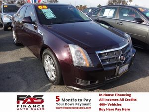 2008 Cadillac CTS RWD w1SB Carfax Report - No Accidents  Damage Reported to CARFAX  Black Che