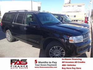 2007 Lincoln Navigator L  Carfax Report - No Accidents  Damage Reported to CARFAX  Black  NOT