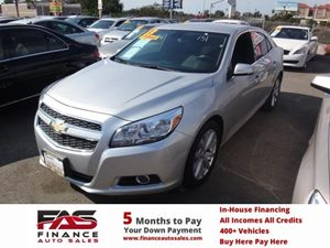 2013 Chevrolet Malibu ECO Carfax Report - No Accidents  Damage Reported to CARFAX  Champagne S