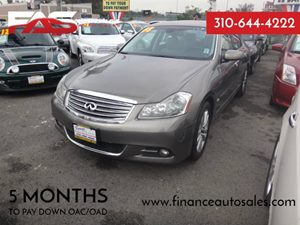 2008 Infiniti M45  Carfax Report - No Accidents  Damage Reported to CARFAX 8 Cylinders Air Cond