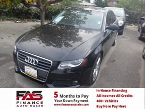 2011 Audi A4 20T Premium Plus Carfax Report - No Accidents  Damage Reported to CARFAX  Brilli