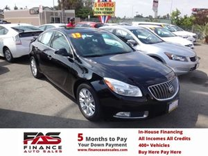 2013 Buick Regal Premium 1 Carfax 1-Owner - No Accidents  Damage Reported to CARFAX  Black Dia