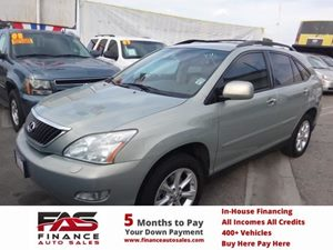2009 Lexus RX 350  Carfax Report - No Accidents  Damage Reported to CARFAX  Classic Silver Met