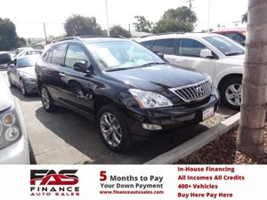 2009 Lexus RX 350  Carfax Report  Black  Rates as low as 29 - At finance auto sales weGr