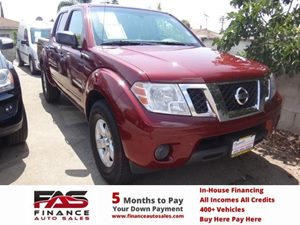 2012 Nissan Frontier SV Carfax 1-Owner - No Accidents  Damage Reported to CARFAX  Lava Red  N