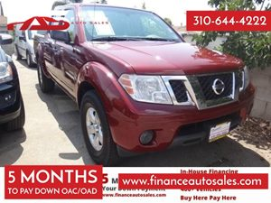 2012 Nissan Frontier SV Carfax 1-Owner - No Accidents  Damage Reported to CARFAX 6 Cylinders Ai