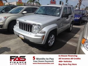 2012 Jeep Liberty Sport Carfax Report  Black Forest Green Pearl  NOTICE All advertised pri