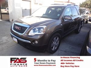 2009 GMC Acadia SLT1 Carfax Report - No Accidents  Damage Reported to CARFAX  Medium Brown Met