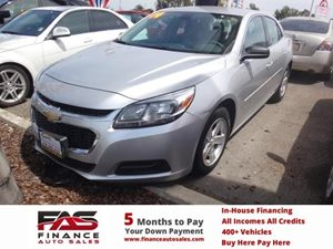 2014 Chevrolet Malibu LS Carfax 1-Owner - No Accidents  Damage Reported to CARFAX  Champagne S