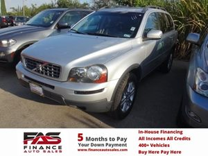 2010 Volvo XC90 I6 Carfax 1-Owner - No Accidents  Damage Reported to CARFAX  Silver Metallic