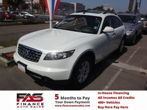 2006 Infiniti FX35  Carfax Report - No Accidents  Damage Reported to CARFAX  White  NOTICE