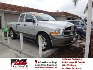 2010 Dodge Ram 1500 ST Carfax 1-Owner - No Accidents  Damage Reported to CARFAX  Bright Silver