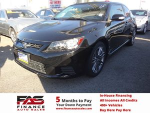2013 Scion tC  Carfax Report - No Accidents  Damage Reported to CARFAX  Black  Rates as low a