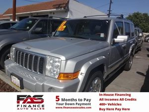 2007 Jeep Commander Overland Carfax Report - No Accidents  Damage Reported to CARFAX  Bright S