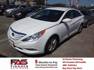 2013 Hyundai Sonata GLS Carfax 1-Owner - No Accidents  Damage Reported to CARFAX  Shimmering W