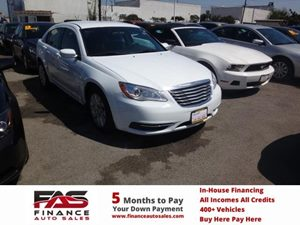 2014 Chrysler 200 LX Carfax 1-Owner - No Accidents  Damage Reported to CARFAX  Bright White Cl