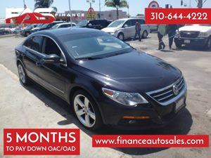 2011 Volkswagen CC Lux Carfax Report - No Accidents  Damage Reported to CARFAX  Deep Black Met