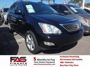2008 Lexus RX 350  Carfax Report - No Accidents  Damage Reported to CARFAX  Black Onyx  NOTIC
