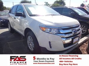 2013 Ford Edge SE Carfax 1-Owner - No Accidents  Damage Reported to CARFAX  White Suede  NOTI