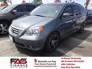2009 Honda Odyssey Touring Carfax Report - No Accidents  Damage Reported to CARFAX  Slate Gree
