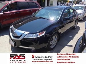 2009 Acura TL  Carfax 1-Owner  Crystal Black Pearl  NOTICE All advertised prices are disco