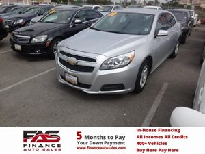 2013 Chevrolet Malibu LT Carfax 1-Owner - No Accidents  Damage Reported to CARFAX  Champagne S
