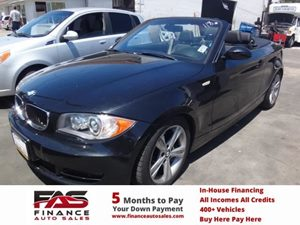 2008 BMW 1 Series 128i Carfax Report - No Accidents  Damage Reported to CARFAX  Black Sapphire