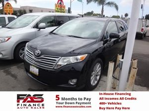 2009 Toyota Venza  Carfax 1-Owner - No Accidents  Damage Reported to CARFAX  Black  NOTICE